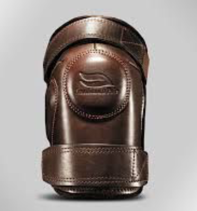 Casablanca Kneepads Brown - Double Strap Adult