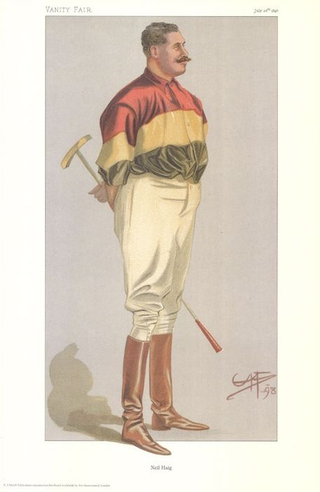 "Vintage Polo Player Print. - ""I Say"" (Mr Neil Haigh)"