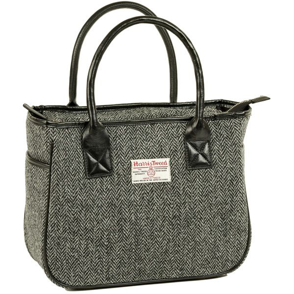 Amy Harris Tweed Box Tote Bag