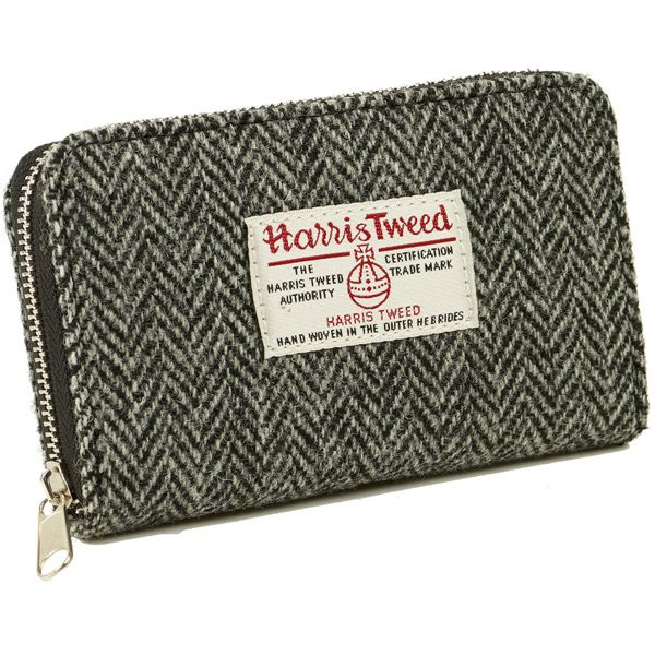 Amy Harris Tweed Zip Purse