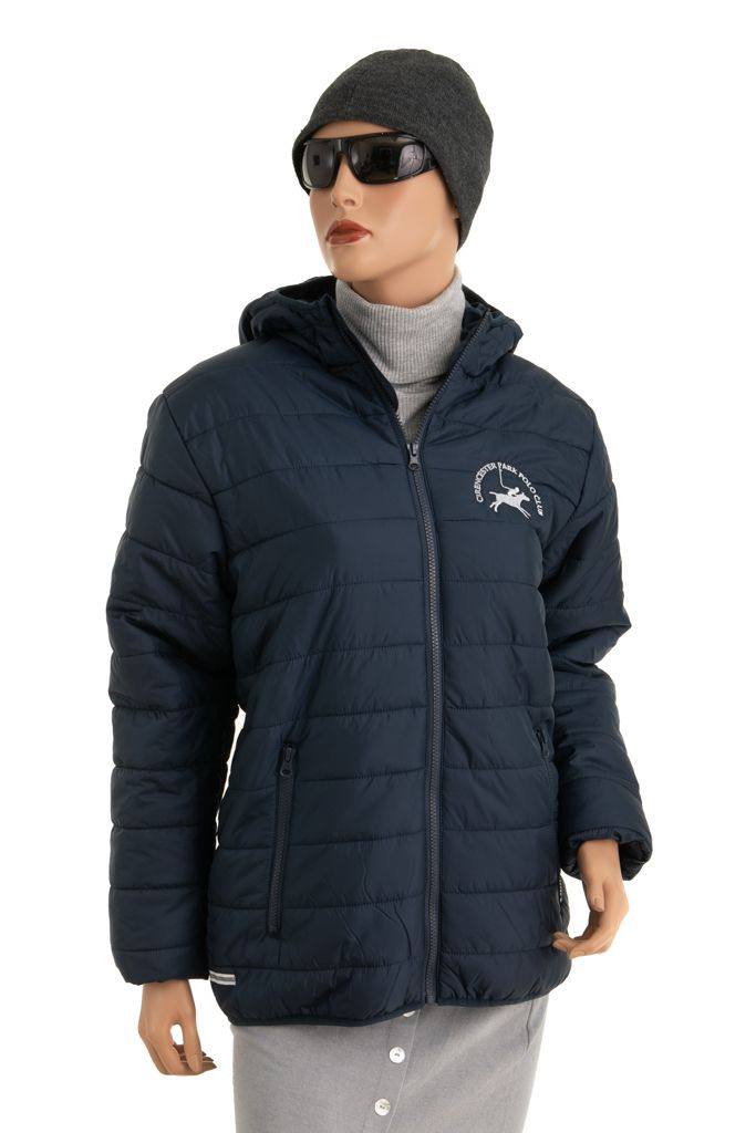 CPPC Soft Padded Jacket in Navy