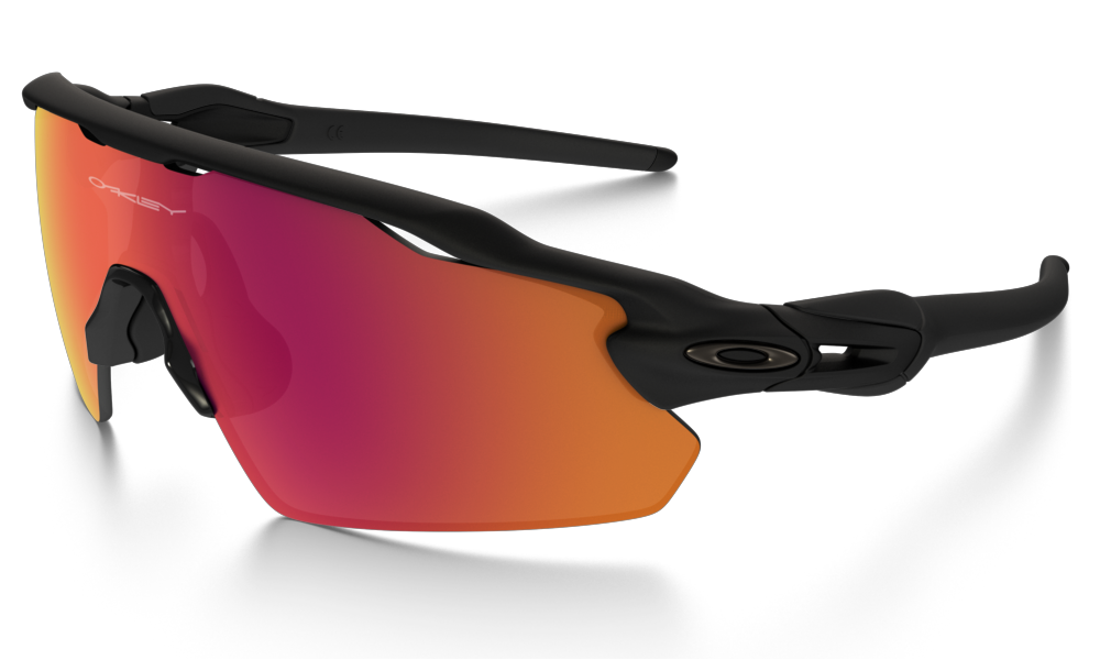 RADAR EV PITCH Matte Black Frames - Prism Lens