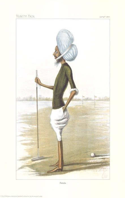Vintage Polo Player Print - set of 4 prints